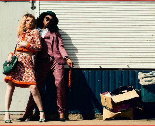 Mode skapas på gatan.